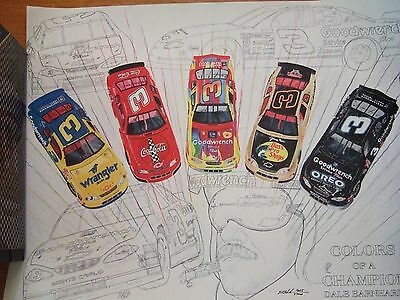 Colors Of A Champion – Dale Earnhardt Sr. Nascar Poster