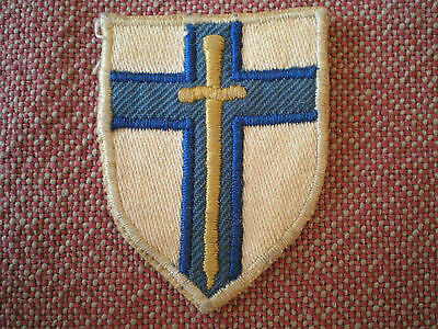 WW2 British Second Army Division Machine Embroidered Formation Insignia Badge