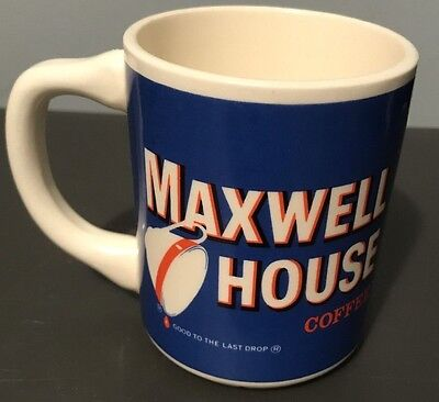 Vintage Maxwell House Coffee Cup Good to the Last Drop General Foods USA