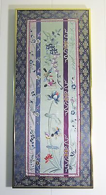 Beautiful Framed Hand Embroidered Chinese Silk Tapestry (Wedding / Engagement)