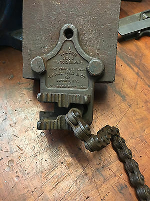 Antique Vulcan NO1 Pipe Vice J.H.Williams & Co Buffalo N.Y. USA