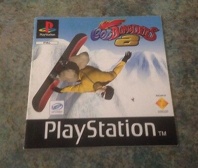 Coolboarders 2 Playstation 1 Instruction Booklet / Manual Ps1
