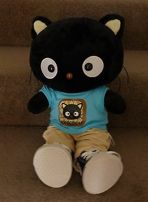 Build A Bear Hello Kitty Chococat Plush Doll & Outfit Very Cute! Hard To Find!