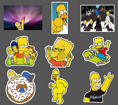 Simpsons Sticker Decal Car Laptop Computer Skateboard Luggage Mobile Phone