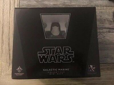 2008 Gentle Giant Star Wars GALACTIC MARINE Bust UK Forbidden Planet Exc. #52
