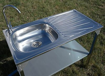 Outdoor Kitchen Sink Camping Unit Portable Folding Ideal For Bbq Fishing