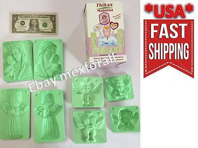 3D MOLDS Fofuchos Fofucha doll Foamy Eva Foam Termoformado MODEL ANGELS VIRGIN
