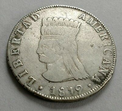 Colombia 8 reales 1819
