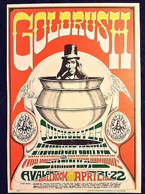 Quicksilver Messenger Service/ Johnny Hammond 2nd Pressing Concert Poster