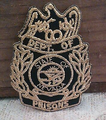 Nevada Department Of Prisons Patch / LAPD Sheriff Police NV State Corrections