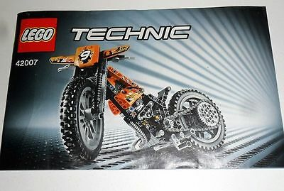 LEGO Technicl - 42007 - Instructions Only