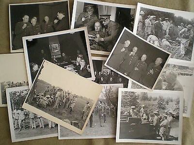 WW2 Group of Photographs of Canadian Army Officers