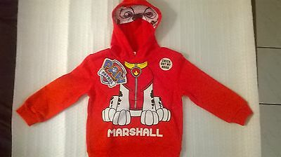 Paw Patrol / Marshall / Boys Hoodie / Sizes 2, 3, 4 and 5.