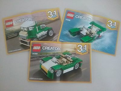 LEGO Creator - 31056 - Instructions Only (3 Booklets)