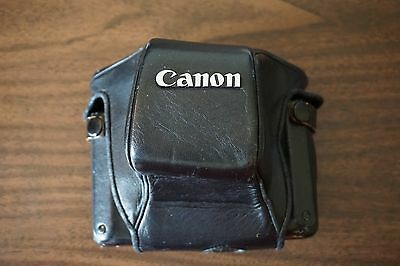 Canon ACT./A field case for AE-1 A-1 with winder