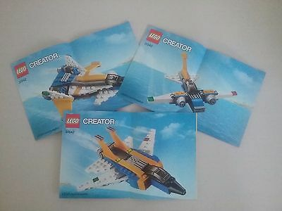 LEGO Creator - 31042 - Instructions Only (3 Booklets)