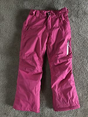 Girls Size 10 Ski Snowboarding Or Snow Play Pants EC