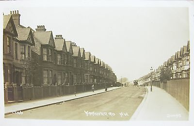 Hanover Road Brondesbury Park Willesden Green London 1915 Rp Pc