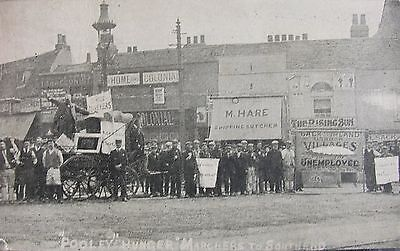"""pooleys"" Hunger March To Southend Forest Gate East London Early Pc"