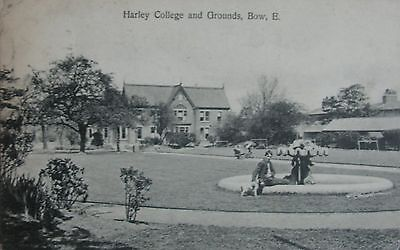Harley College & Grounds Bow East London 1910 Pc