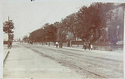 Leafy Chester Road Gorse Hill Stretford Manchester Lancs 1907 Rp Pc