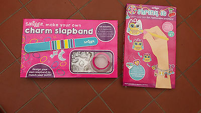 Smiggles Shrink It Kit and Smiggles Slapband Kit-New