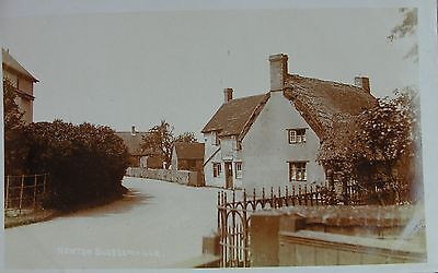 The Post Office Newton Blossomville Near Olney Buckinghamshire Early Rp Pc