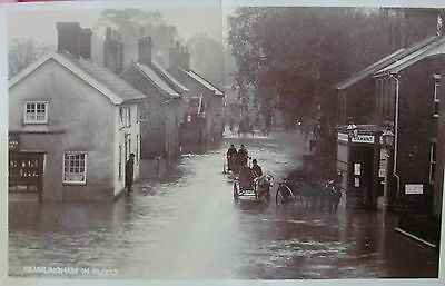 The Floods In Framlingham Suffolk Early Rp Pc