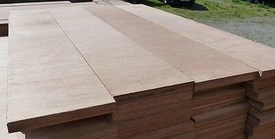 10 Pieces of NEW 25mm Premium Quality Marine Ply 4ft x 8½in (1220mm x 214mm)