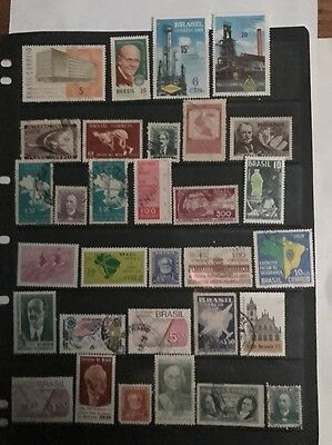 stamps  Brazil - MNH and  Used  - Lot 4