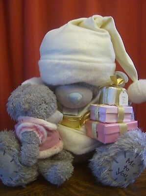 With Tags Me To You Bear Father Christmas Santa Limited Edition 'Meeting Santa'