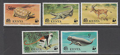 Kenya 1977 Endangered Species set um-mint
