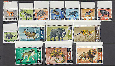 Kenya 1966 part set um-mint