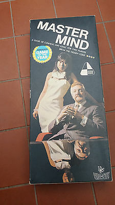 Vintage Master Mind Mastermind 1972 Made by Vic-Toy-Invicta Plastics England