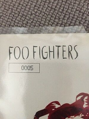 "Foo Fighters LOW 7"" Vinyl Ltd NUMBERED #5!! Very Rare"