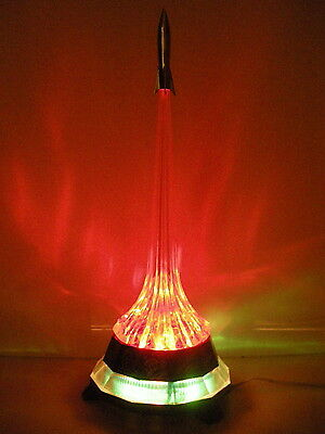 Russian VTG Night Light Lamp  Rocket Launch Soviet Space program 1975 RARE