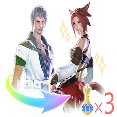 FINAL FANTASY XIV FFXIV FF14 Fantasia Three Phials of Fantasia x 3