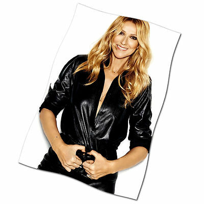 Celine Dion Flag Banner NEW Have You Ever Seen the Rain Rhythm of My Heart