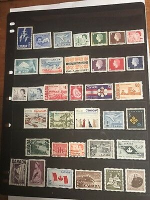 stamps  Canada - Mint Light Hinged and Used - Lot 260