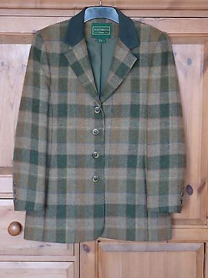 Ladies Equestrian Wool Tweed Country Pursuits Horse Riding Show Jacket - Size 12