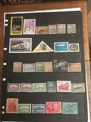 stamps  Hungary  - Used - Lot 259