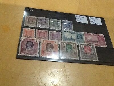 Burma GVI Sg 028/40 Mounted Mint Worth A Look All Pictured Our Ref 315