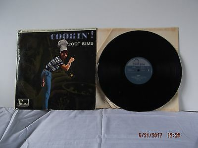 Rare 1962  Cookin  Zoot Sims  Fontana Label  Recorded Live At Ronnie Scotts.