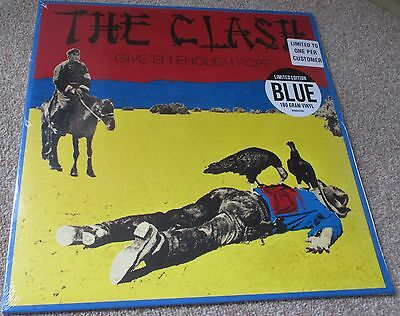 Clash - Give 'em Enough Rope (Limited Blue Vinyl) - Columbia