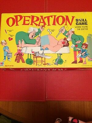 Operation Board Game Vintage Collectable Rare 1999