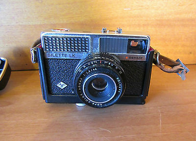 VINTAGE AGFA SILETTE LK SENSOR CAMERA with CASE - MADE IN GERMANY