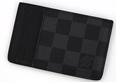 Auth LOUIS VUITTON Business card holder N62666 Neo Porto cult card case (190357)