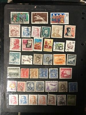 stamps  Chile - Used  - lot 90