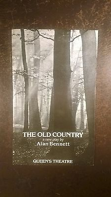 Alec Guinness in The Old Country by Alan Bennett 1977 West End programme