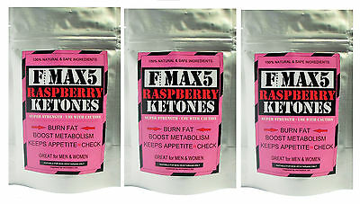 Raspberry Ketones Fat Burner Very Strong Slimming Weight Loss Diet Pills Bid.98